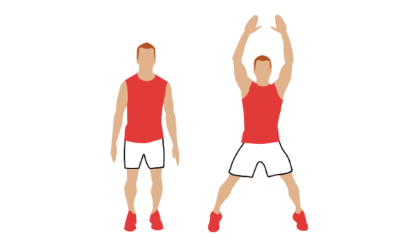 jumping jacks image
