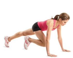 mountain climber exercise image
